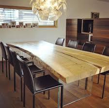 stammdesgin ash table for a family home in austria