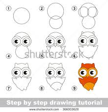 Drawing Tutorial How To Draw A Cute Owl