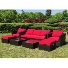 Grand Resort Patio Furniture by Grand Resort Osborn 7 Piece Sofa Seating Set Featuring Sunbrella