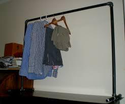 Decorative Metal Garment Rack by Free Standing Clothing Rack
