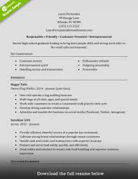 Resume Templates Retail Sales Associate