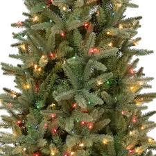 Northern Cypress Slim Instant Lite Pole Pre Lit Artificial Christmas Tree