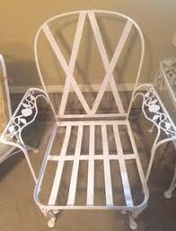Vintage Wrought Iron Patio Furniture Woodard by Sofa Woodard Vintage Chantilly Rose Sold Vintage Wrought Iron
