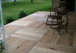 Wooden Pallet Deck 21 Patio Unique Use Of