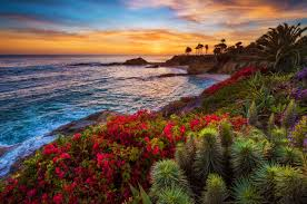 Laguna Beach California Sunset Photos