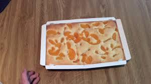 dr oetker käse streusel kuchen mit pfirsichen