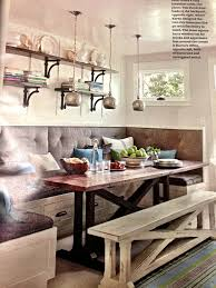 build a corner booth seating interior photos of kitchens and