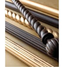 Levolor Curtain Rods Canada by Wood Curtain Rods Rustic Curtain Blog