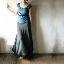 maxi skirt long skirt wool skirt winter skirt jersey