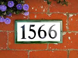 Mexican Tile House Numbers With Frame by 25 Unique Ceramic House Numbers Ideas On Pinterest Tile House
