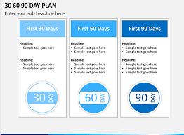 30 60 90 Powerpoint Template