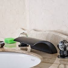 Brushed Bronze Tub Faucet by Oil Rubbed Bronze Bathroom Faucet Widespread Promotion Shop For