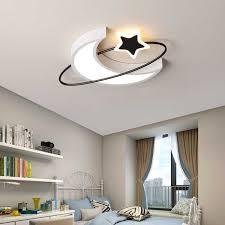 führte mond sterne dach licht kinder schlafzimmer decke licht zimmer decke le baby wohnzimmer decke führte licht schlafen zimmer licht 110v
