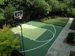Inspirational Backyard Basketball Court Ideas | Architecture-Nice Amazing Ideas Outdoor Basketball Court Cost Best 1000 Images About Interior Exciting Backyard Courts And Home Sport X Waiting For The Kids To Get Gyms Inexpensive Sketball Court Flooring Backyards Appealing 141 Building A Design Lover 8 Best Back Yard Ideas Images On Pinterest Sports Dimeions And Of House