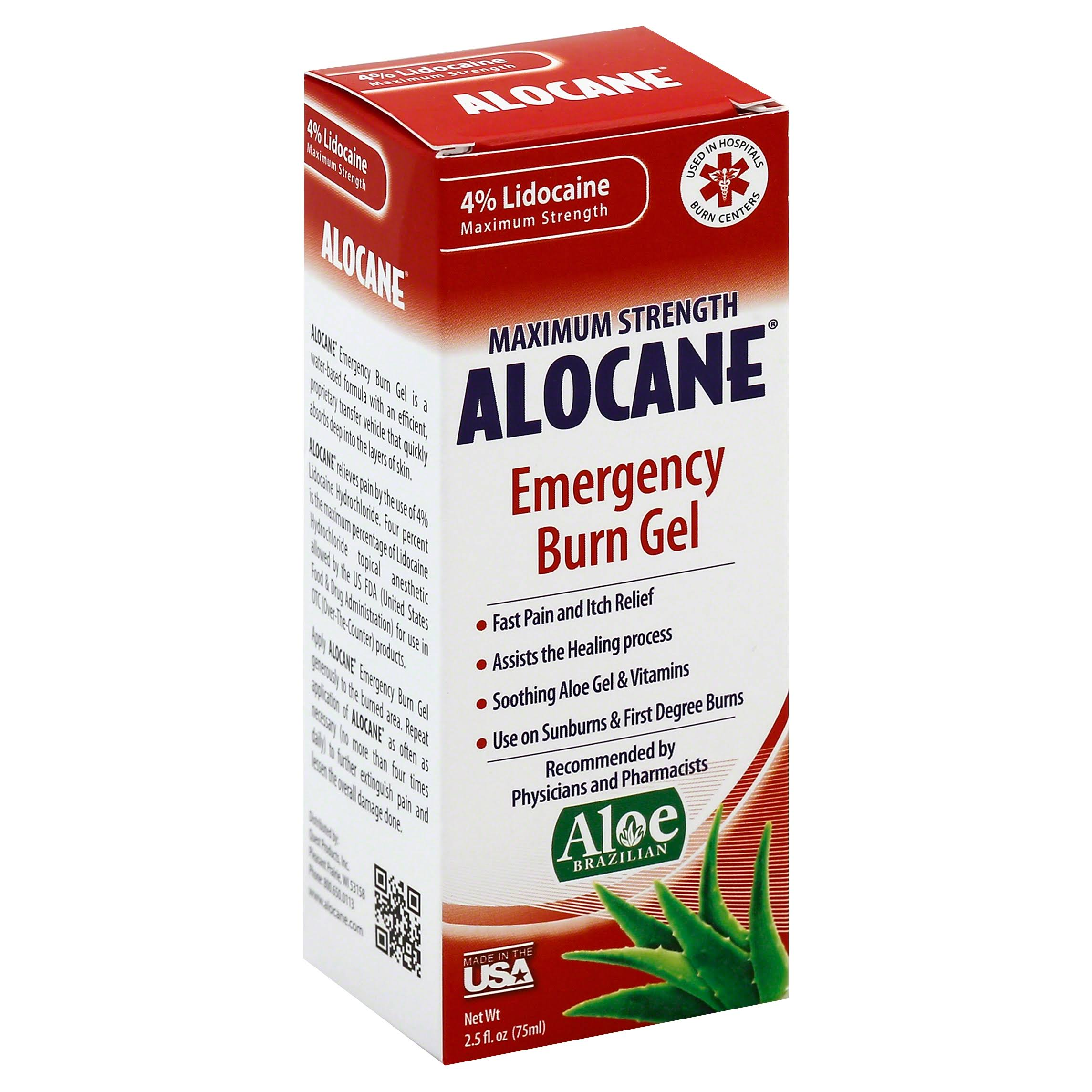 Alocane Maximum Strength Emergency Burn Gel - 2.5oz