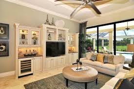 Living Room Entertainment Wall Cool Rustic Center Trend Other Metro Traditional Inspiration With