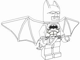 Lego Batman Printable Coloring Pages Pictures