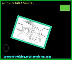 build a picnic table out of pallets 101521 woodworking plans and