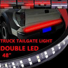 100 Chevy Truck Tailgate 48 Double LED Light Strip Bar Brake Backup For