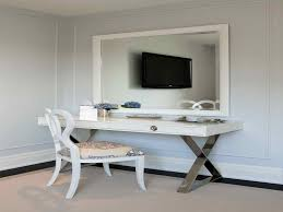 Modern Vanity Table With Mirror The Holland How To Decorate A