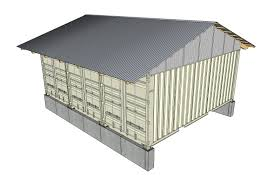 Menards Temporary Storage Sheds by Roof Plans Tin Can Cabin