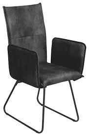 6 stühle stuhl arona r5015 13 küchenstuhl esszimmer armlehnen stuhl webstoff anthrazit