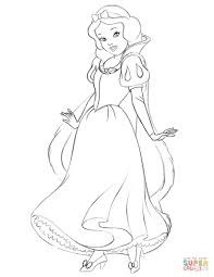 Click The Snow White Coloring Pages To View Printable