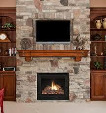 Wonderful Fireplace Mantel Designs Flat Screen Tv