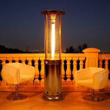 Gardensun Patio Heater Cover by Lava Heat Opus Lite Liquid 51 000 Btu Propane Patio Heater