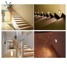 2pcs 1 5w led wall sconces recessed light hallway stair step path