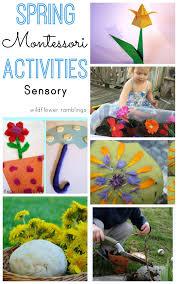 Montessori Spring Sensory Activities