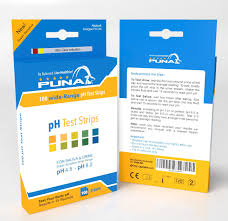 100 Ph Of 1 Puna Test Strips Pack Of 00 Strips