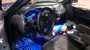 2000 F-150 Blue Led Interior Lights - YouTube