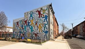 Philly Mural Arts Map by Philadelphia Keith Haring Mural Restored G Philly