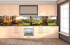 dimex line küchenrückwand folie selbstklebend wiese klebefolie dekofolie spritzschutz für küche premium qualität made in eu 350 cm x 60 cm
