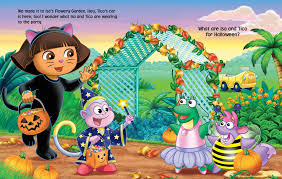 Halloween Picture Books by Dora The Explorer Say Boo Book By Nickelodeon Dora The