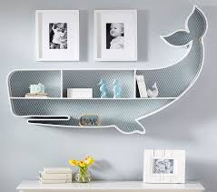 Pottery Barn Baby Wall Decor by Super Cute Whale Book Shelf For Nursery By Pottery Barn All