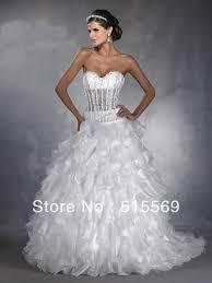 turmec strapless corset wedding dress