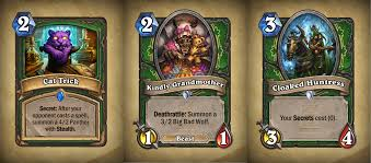Hearthstone Hunter Beast Deck 2015 by The Complete And Definitive One Night In Karazhan Hipsters Review
