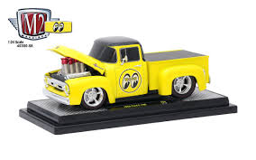 100 Truck From The Expendables Amazoncom 1956 Ford F100 Pickup Mooneyes 124 Diecast Model