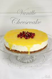supercremiger vanille cheesecake mit orange und muskat