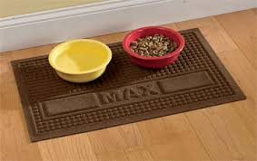 Dog Food Mat Personalized Water Trapper Pet Placemat Orvis