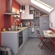 couleur cuisine leroy merlin meuble de cuisine gris delinia délice leroy merlin