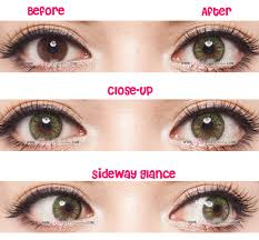 Cheap Prescription Colored Contacts Halloween by G U0026g Gbt Green Circle Lenses Colored Contacts Pinkyparadise