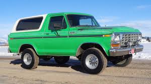 1979 Ford Bronco Ranger XLT On EBay Is Very Green, Mostly Original ... 1969 Ford Bronco Half Cab Jared Letos Daily Driver Is A With Flames On It Spied 2019 Ranger And 20 Mule Questions Do You Still Check Trans Fluid With Truck In Year Make Model 196677 Hemmings 1966 Service Pickup T48 Anaheim 2016 Indy U101 Truck Gallery Us Mags 1978 Xlt Custom History Of The Bronco 1985 164 Scale Custom Lifted Ford