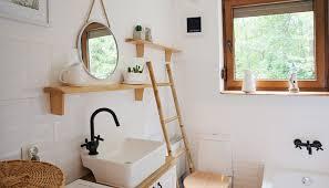 badezimmer idee modernes landhaus bad mit deko