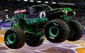 Top 5 Baddest Monster Trucks For 2017 - AMSOIL Blog Pin By Michele Yancy On Monster Jam Pinterest Trucks Rolls Into Tampa Bay Bloggers Charleston Fall Nationals Truck Shdown Myradiolinkcom Crushing It With Family Fun At Monsterjam 24th Annual Dixie Speedway Bigfoot Truck Wikipedia Bktfitted Returns To Europe Tyre Asia Pit Party Hlights Ad Worlds Faest Raminator Specs And Pictures The Story Behind Grave Digger Everybodys Heard Of Trucks With Animals On Races Vector Illustration Eps Brings Monster Fun New Orleans Feb 23