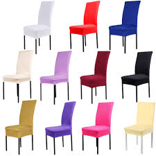 US $3.74 25% OFF|11 Colors Dining Chair Covers Spandex Material High  Quality Strech Dining Room Wedding Banquet Chair Protector Slipcover  Decor-in ... Chair Covers And Sashes Buy Patio Fniture Waterproof For Ding Whosale Interiors Baxton Studio Lorenzo Side Short Cover For Chairs Frasesdenquistacom X Back Ding Chairs Most Comfortable Youll Love In 2019 Wayfair Nilkamal Sale Area Prices Brands 20 New Design Fabric Seat Table Luxury 25 Ikea Warranty Scheme Room Bdana Print Slip The Blanket