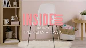 Ikea Snille Chair Hack by Ikea Hack How To Give Your Ikea Chair A Cool New Look Youtube