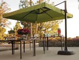 Offset Rectangular Patio Umbrellas by Square Offset Patio Umbrella Gccourt House